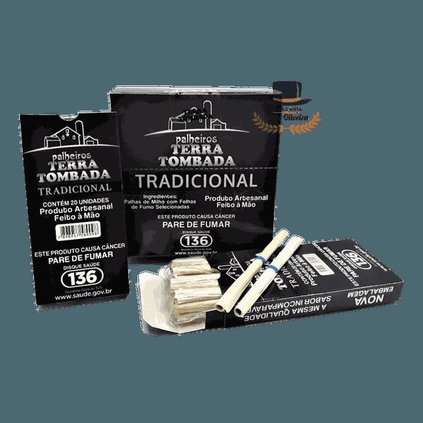 TERRA TOMBADA TRADICIONAL - Display com 10 maços de 20 cigarros