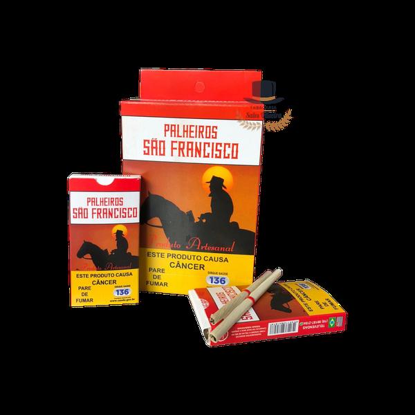 Palheiros São Francisco Tradicional - Display com 10 maços de 20 cigarros