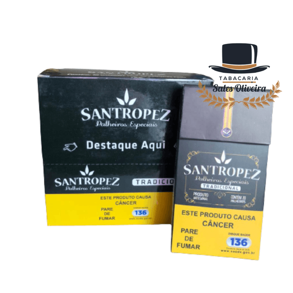 Santropez Tradicional - Display com 10 maços de 20 cigarros