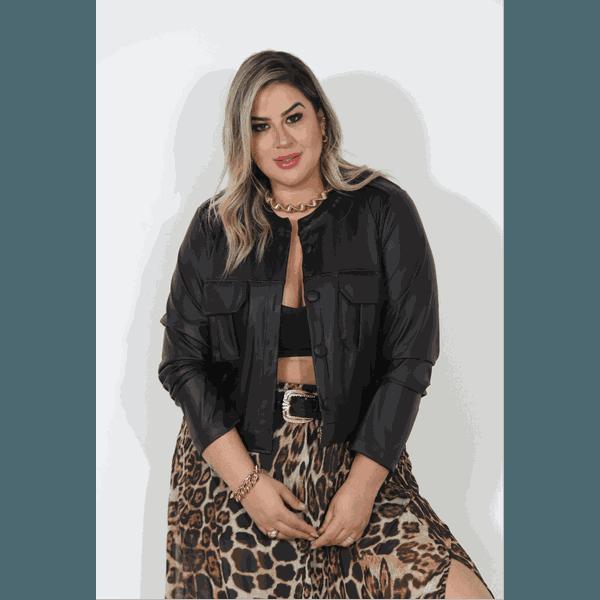 Jaqueta Giulia Preta