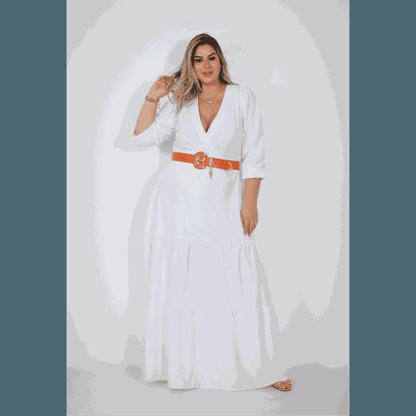 Vestido Samanta White