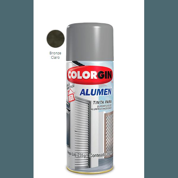 SPRAY ALUMEN BRONZE CLARO 350ML COLORGIN