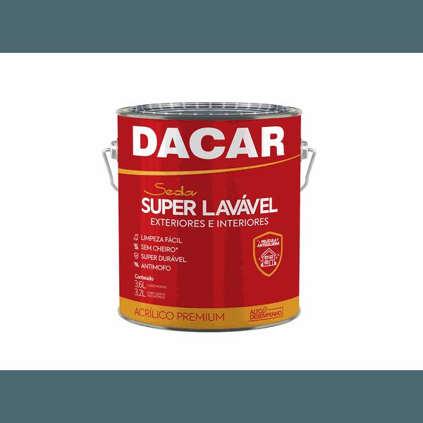 TINTA ACRÍLICA SUPER LAVÁVEL BRANCO NEVE 3,6L DACAR