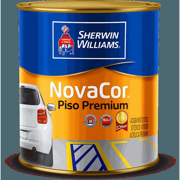 TINTA PARA PISO CONCRETO NOVACOR SHERWIN WILLIAMS 0,9L