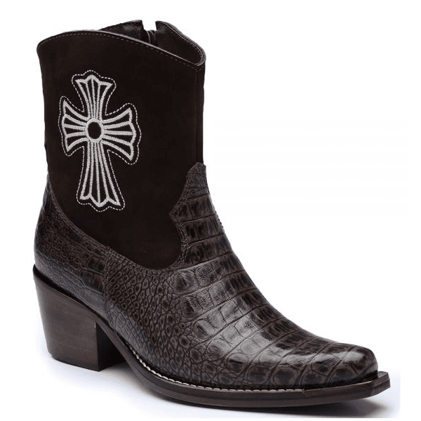Bota Country Feminina com estampa