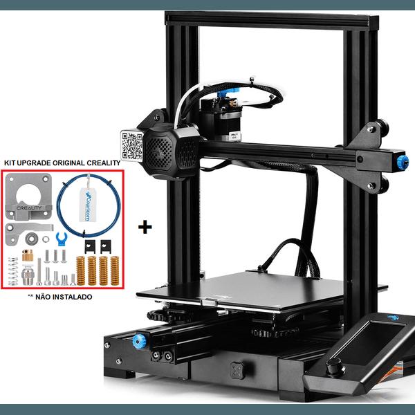 Impressora 3D Creality Ender 3 V2 32 Bits + Kit Upgrade Original