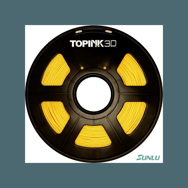 Filamento ABS 1.75mm 1kg - Amarelo