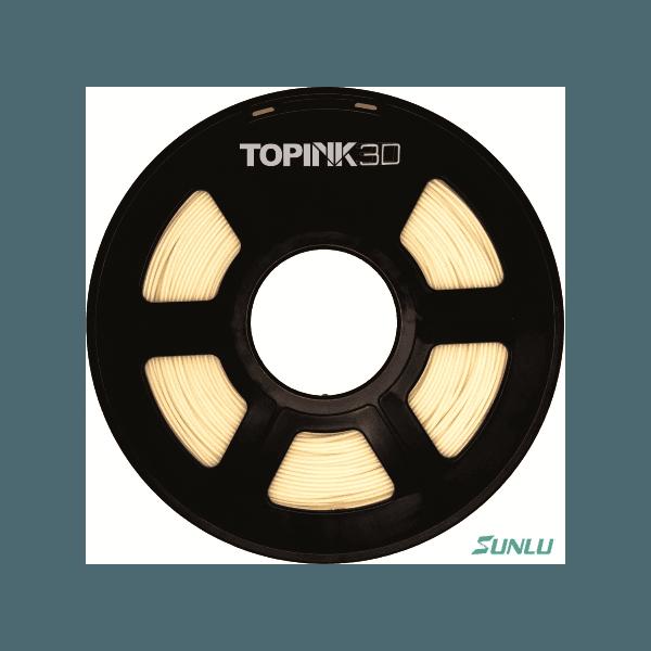 Filamento PLA Fosforescente 1.75mm 1Kg - Natural