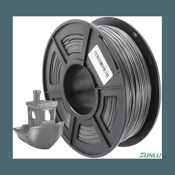 Filamento PETG 1.75mm 1KG - Preto