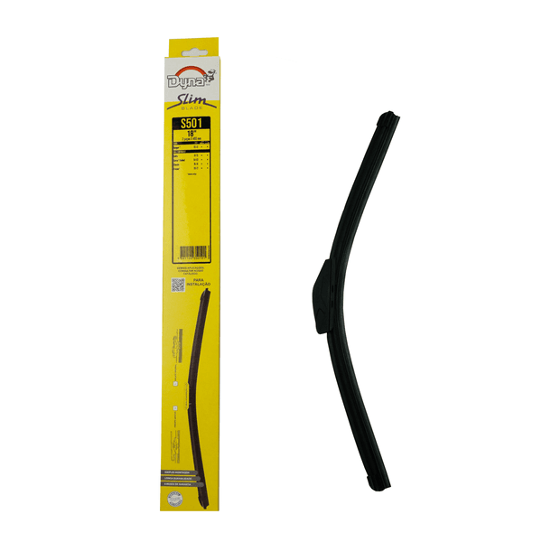 Palheta Limpador Parabrisa Slim Blade 18/18 Polegadas Dyna-S501 (Confira Compatibilidade nos Detalhes do Produto)