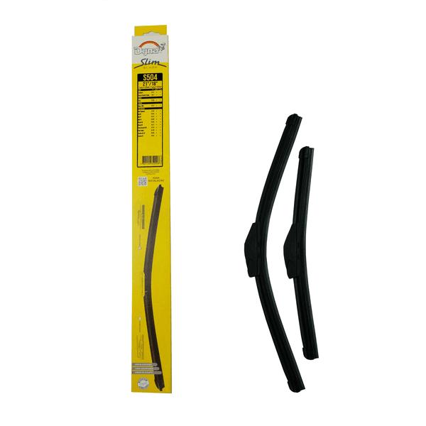 Palheta Limpador Parabrisa Slim Blade 18/21 Polegadas Dyna-S504 (Confira Compatibilidade nos Detalhes do Produto)