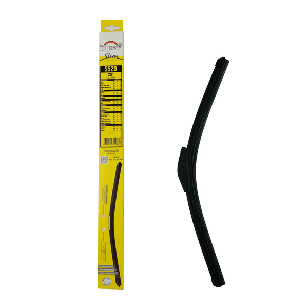 Palheta Limpador Parabrisa Slim Blade 20 polegadas Dyna-S520 (Confira Compatibilidade nos Detalhes do Produto)