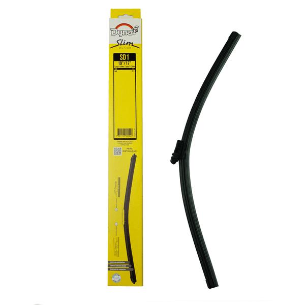 Palheta Limpador Parabrisa Slim Blade Ka 10 a 13 17/19 Polegadas Dyna-Sd1