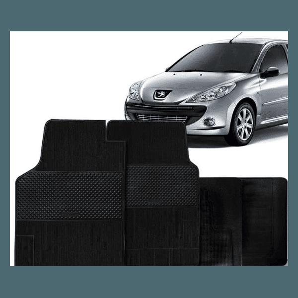 Jogo de Tapetes Peugeot 206/207 4 Peças