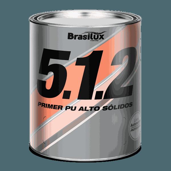 PRIMER PU BRASILUX 5.1.2 ALTO SOLIDO C/CAT 900 ML
