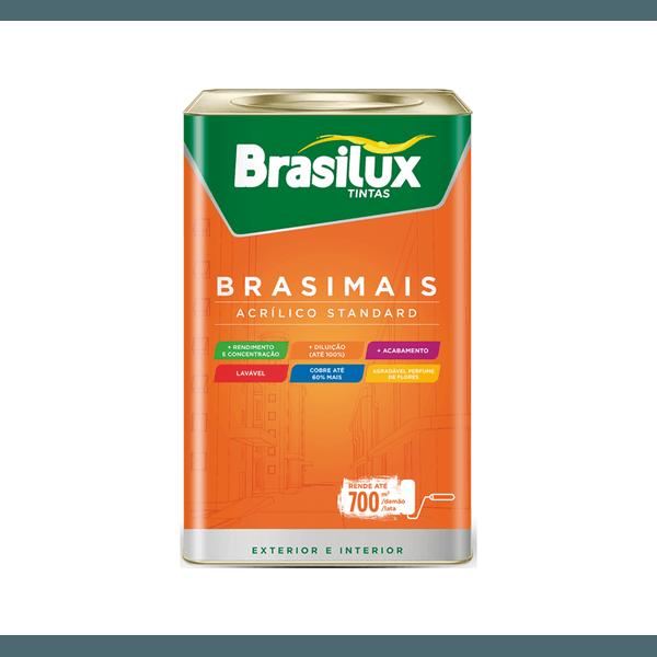 SUPER ACRÍLICA ALTO RENDIMENTO BRANCO NEVE 18L BRASIMAIS BRASILUX