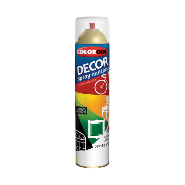 SPRAY BRANCO BRILHANTE 360ML COLORGIN