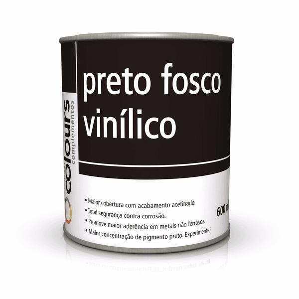 PRETO FOSCO VINÍLICO C/CAT MAXI RUBBER