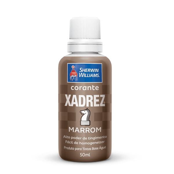 CORANTE MARROM 50 ML XADREZ