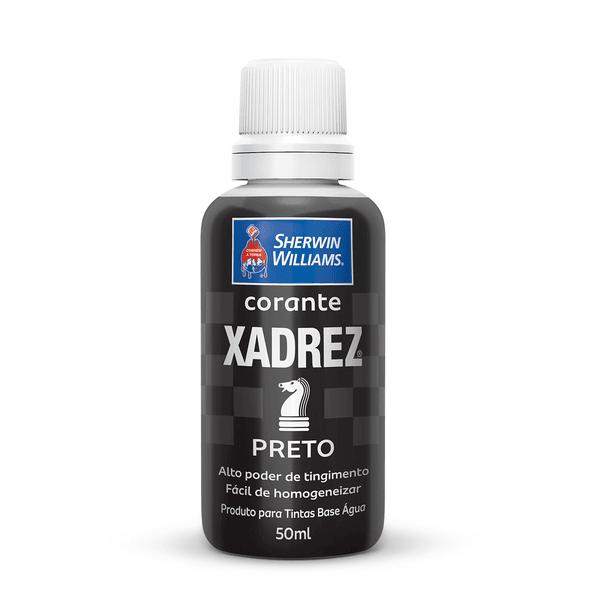CORANTE PRETO 50 ML XADREZ