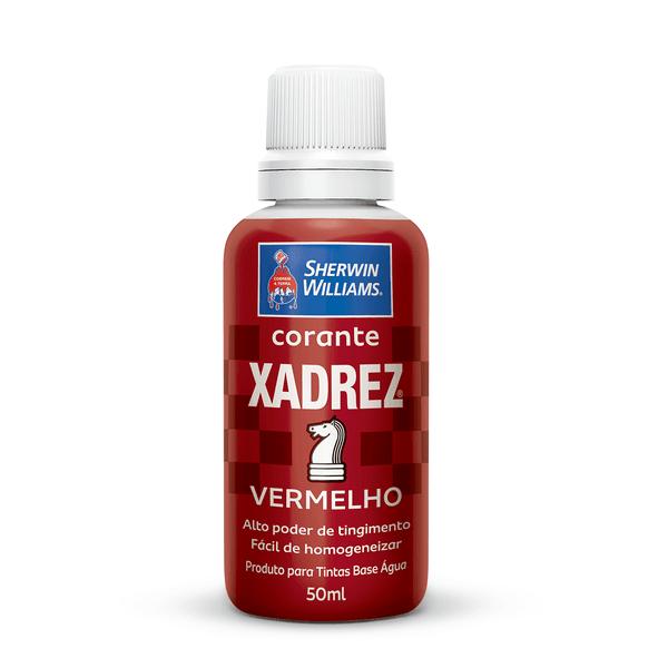 CORANTE VERMELHO 50 ML XADREZ