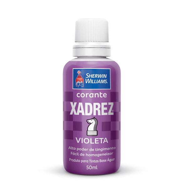 CORANTE VIOLETA 50 ML XADREZ