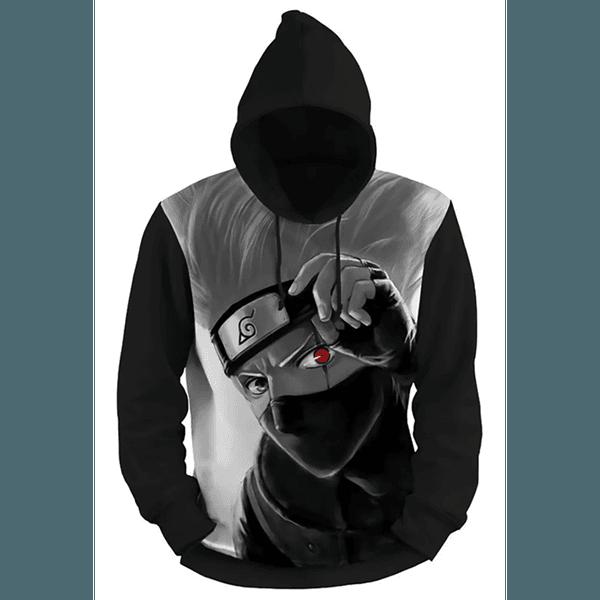 Moletom Kakashi Full Print 3d Use Nerd