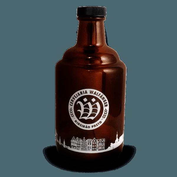 Growler de vidro 1 litro
