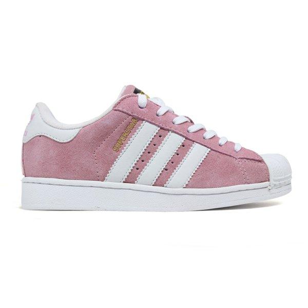 edfe4e98eca2f Tênis Adidas Superstar Nobuck - Rosa | ACT BOOTS