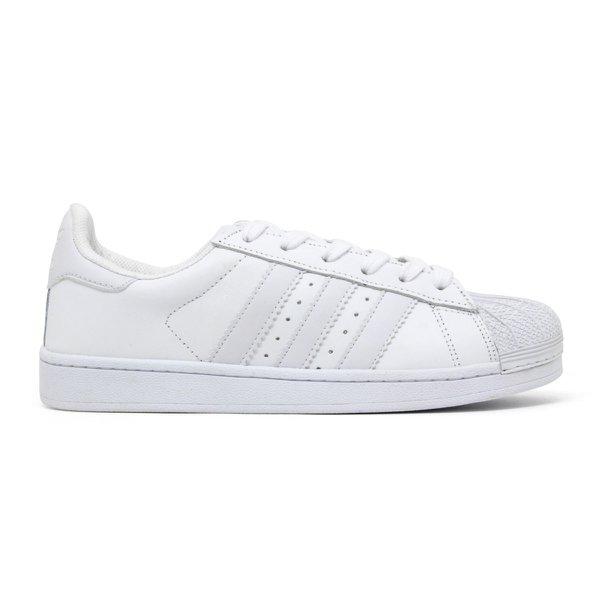 ab620eda4 compre agora fem. Tênis Adidas Superstar - Branco-Branco