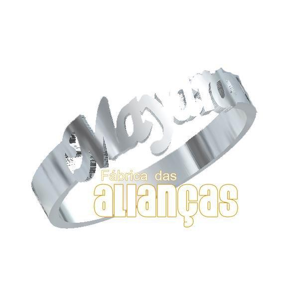 Anel Personalizado em Prata 0,950 k