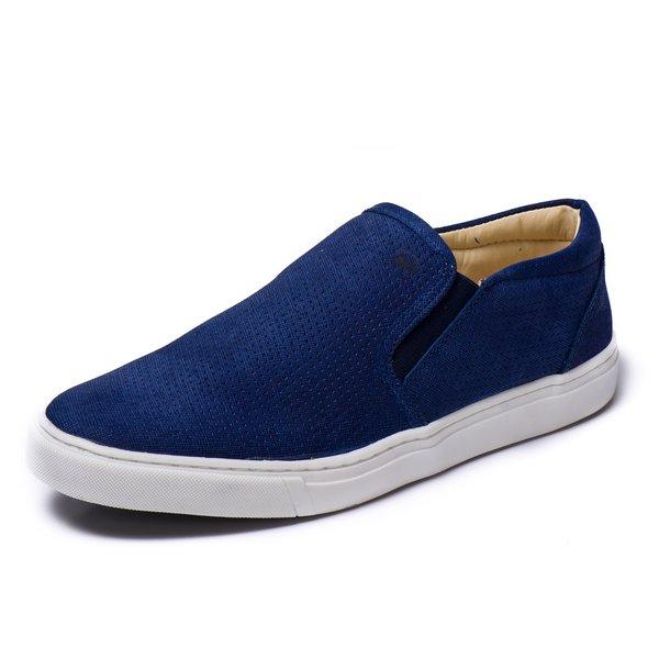 d198794638 Sapatênis Couro 75017 Azul | Berlutini Shoes