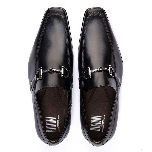 8dbf5f2208 sapato social masculino couro legítimo estilo italiano   BIGIONI