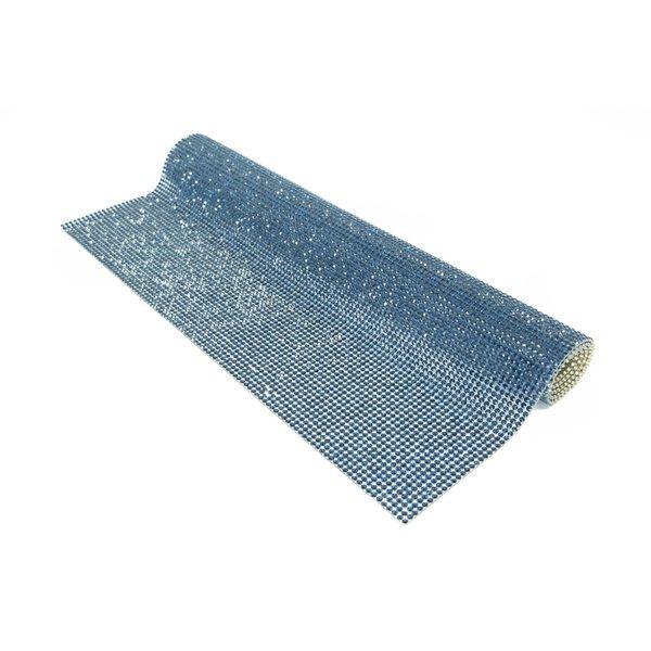Manta de Strass Azul Marinho - 2mm.
