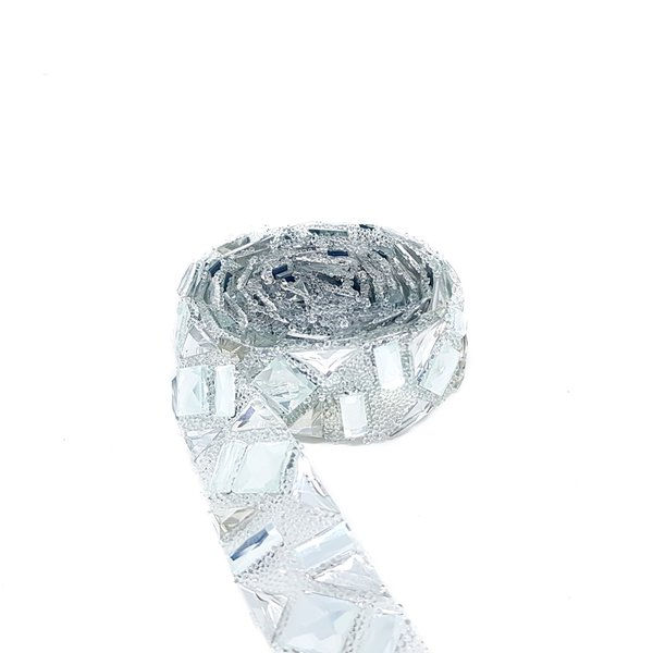 Tira Glass - Cristal, Base Silicone.
