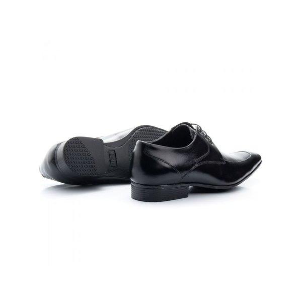 462d4cf4c Sapato Social Com Cadarço Preto Solado De Borracha Bigioni | BOOTSHOES