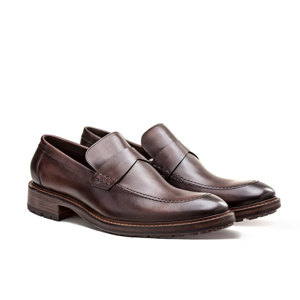 SAPATO MASCULINO LOAFER BROOME BROWN