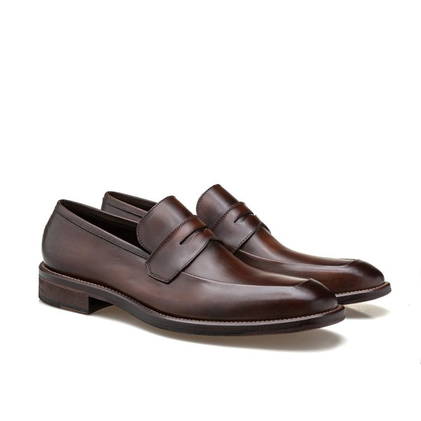 SAPATO MASCULINO LOAFER DUNDALK BROWN