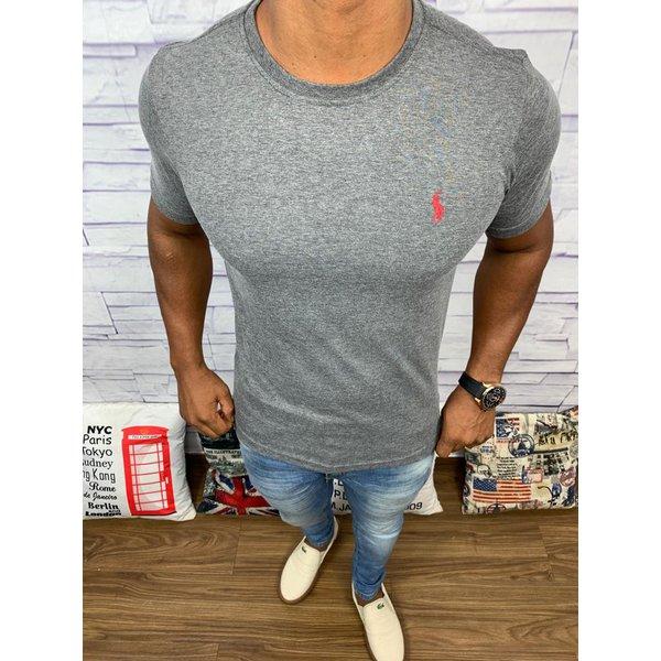 Camiseta Ralph Lauren - cinza