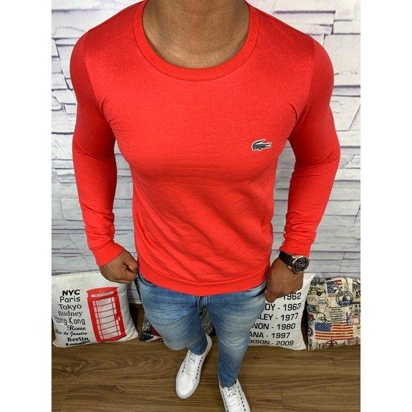 Blusa de Frio Lacoste - Moletinho Vermelho
