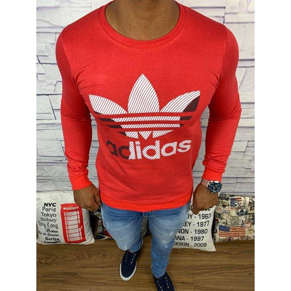 Blusa de Frio Adidas - Moletinho Vermelha