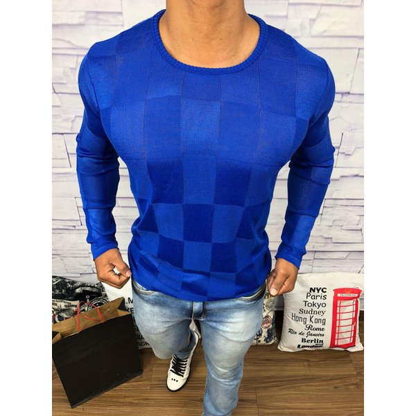 Suéter Rv - Azul Bic