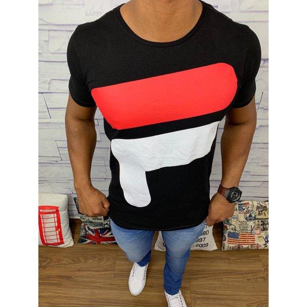 Camiseta Fila Preta