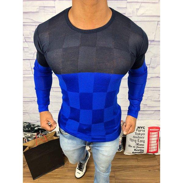 Suéter Rv - Azul c/Preto
