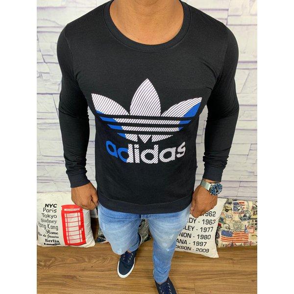 Blusa de Frio Adidas - Moletinho Preto