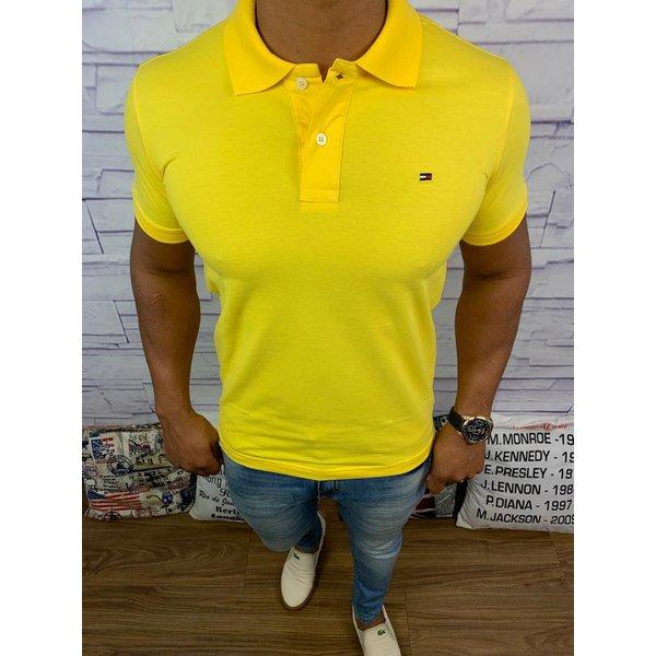 Polo Tommy - Amarela