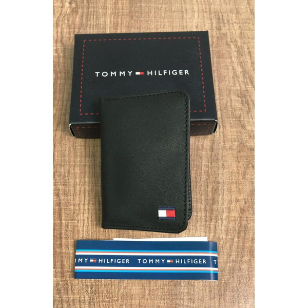 Porta Cartão Tommy Hilfiger - Preto