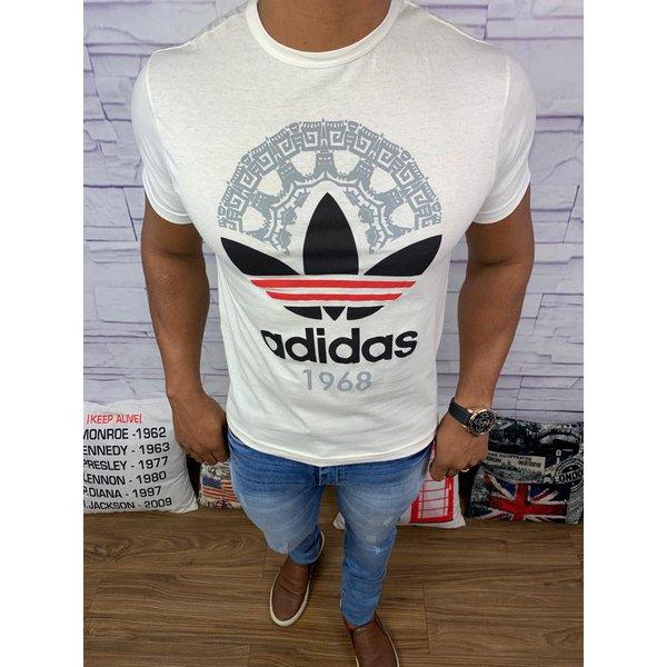Camiseta Adidas - Creme