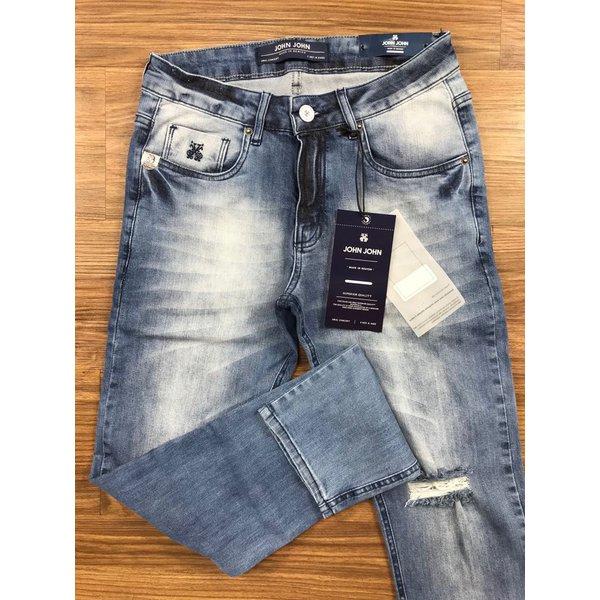Calça Jeans John John- Rasgada