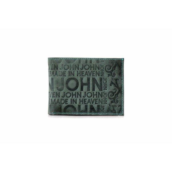 Carteira John John Carimbada - VERDE